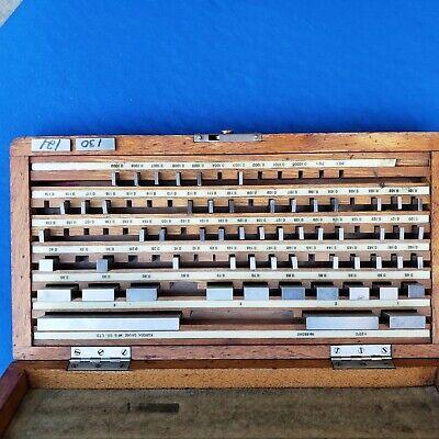 Set Of 57-piece Gage Blocks Lss Koruda In Koruda Case