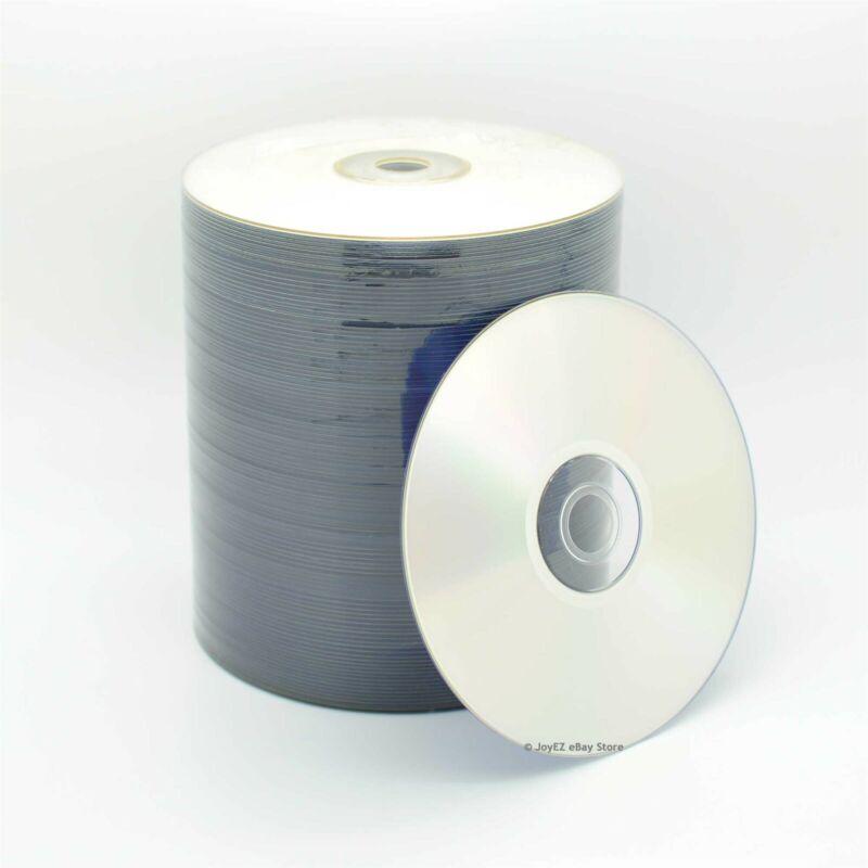 100 Pieces 16X Silver Inkjet Printable Blank DVD-R DVDR Disc Media 4.7GB