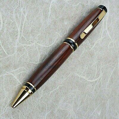 Handmade Cocobolo Cigar pen with Gold Trim