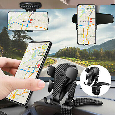 3 in 1 Car Dashboard Mount Holder Stand Cell Phone GPS 360°