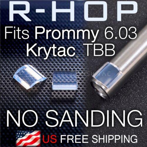RHOP Fit Prometheus Prommy 6.03 Krytac AEG TBB Airsoft Barrel NO Sanding R Hop