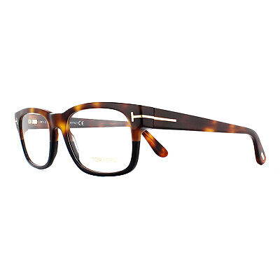 Tom Ford Glasses Frames FT5432 056 Havana Black 54mm Mens