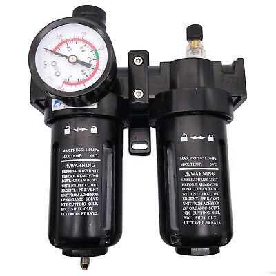 Us Stock Sfc-400 G12 Pneumatic Air Filter Regulator Lubricator Sl400a Bsp 12