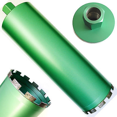 4 Wet Diamond Core Drill Bit For Concrete - Premium Green Series
