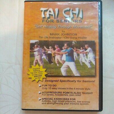 Tai Chi For Seniors (DVD) By Mark Johnson
