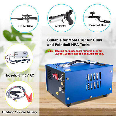 Pcp Air Compressor Portable 4500psi30mpa Pcp Riflepistol And Paintball Tank