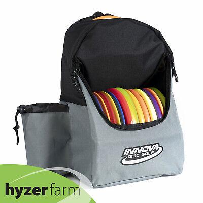 INNOVA DISCOVER Backpack Disc Golf Bag *Pick color* Holds 15+ discs Hyzer Farm