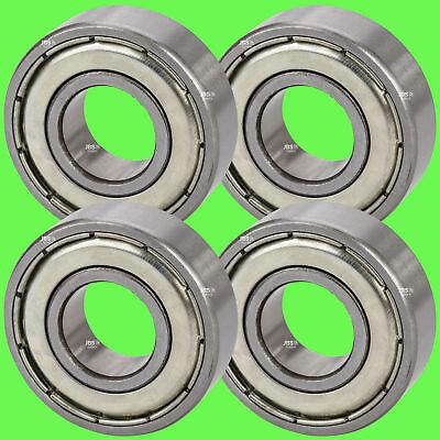 ► (4 Stück) 6206 ZZ Kugellager 30 x 62 x 16 mm Rillenkugellager für 30 mm Welle
