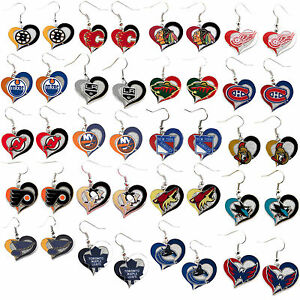 swirl-heart-earring-dangle-charm-NHL-PICK-YOUR-TEAM