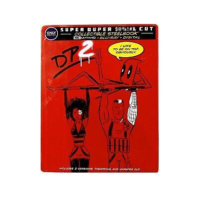 Deadpool 2: Steelbook (4K Ultra HD Blu-ray, 2018; 4-Disc Set) + Digital