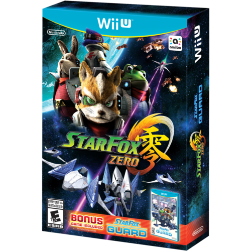 $30.00 - Star Fox Zero + Star Fox Guard (Wii U, 2016)