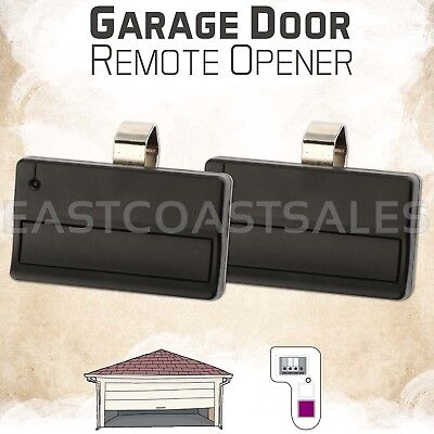 2 For Sears Craftsman 139.53753 One button Garage Door Opener remote 315m Purple