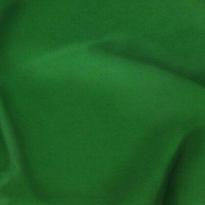- Kelly Green Polyester Poplin Fabric - 60