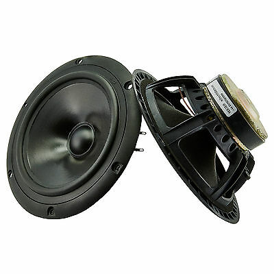Peerless M16NH 185mm hifi bass speaker woofers NOS 8ohm