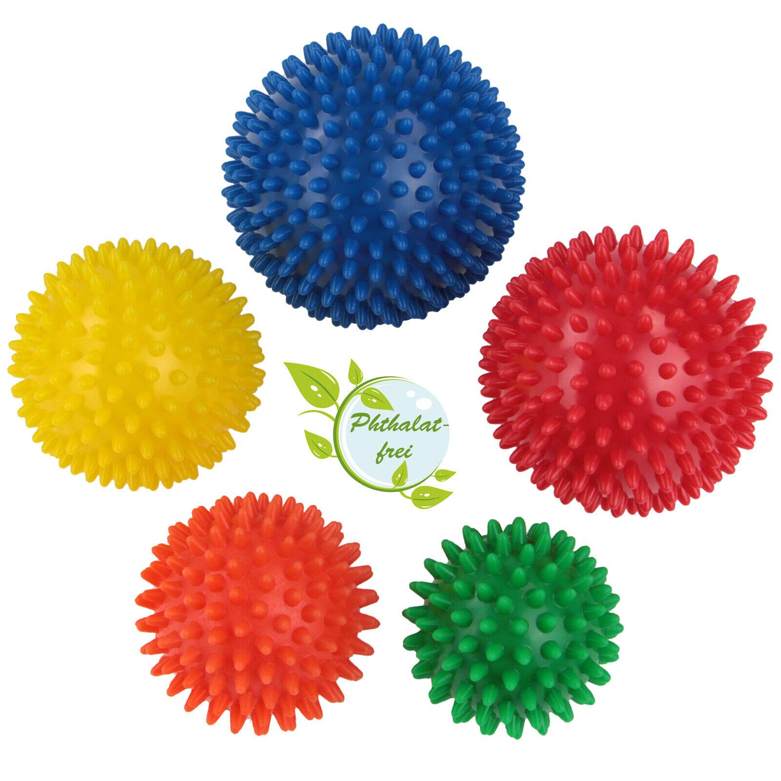 Igelbälle von BB Sport Noppenball Massagebälle Massageball Set Igelball