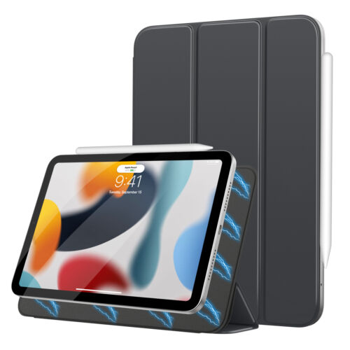 MoKo Ultra Slim Smart Case Strong Magnetic Trifold Cover for