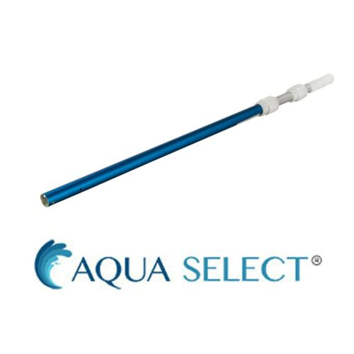 Aqua Select Telescoped Aluminum Swimming Pool Vacuum Pole - Choose Size