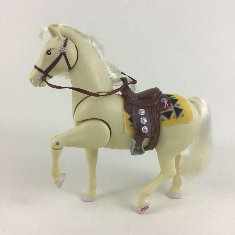 Loving Family Western Horses Palomino Whisper with Sounds 2000 Fisher Price