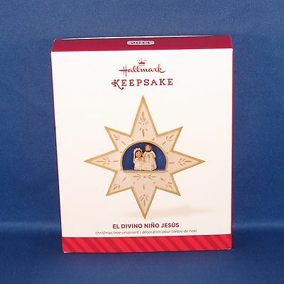 Hallmark 2014 El Divino Nino Jesus Holy Family Star Keepsake Christmas Ornament ()
