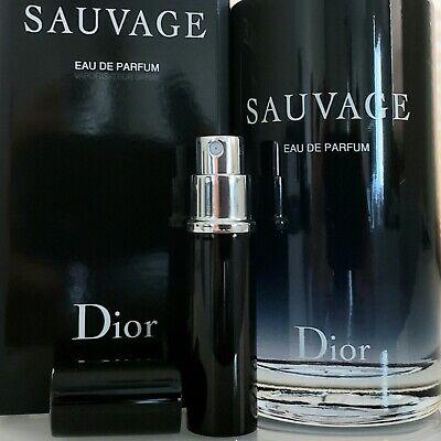 Christian Dior Sauvage Eau de Parfum 6ml Travel Spray Men's EDP 0.20oz Decant