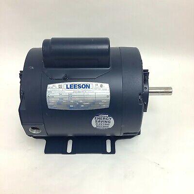 Leeson 114222.00 50 Hz Motor 13 Hp 2850 Rpm 110220 Volt C6c28dr1d