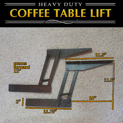 Lift Top Coffee Table DIY Hardware Fitting Furniture Hinge Lift Up E ()