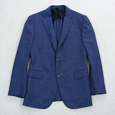 Current Pal Zileri Mens Unstructured Wool 2B Blazer Sport Coat Blue Size 44R