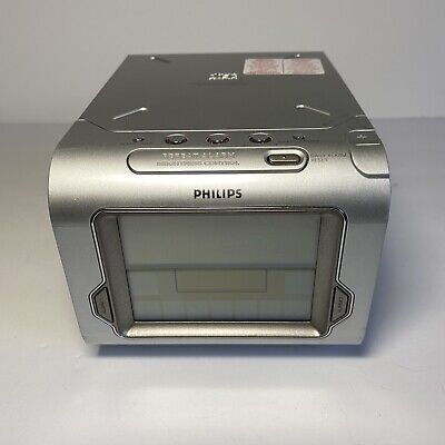 Philips aj3980 touchscreen clock with CD player and radio