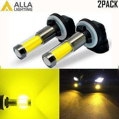 AllaLighting 3000K 881 LED Driving Fog Light Bulb Replacement Lamp Bright