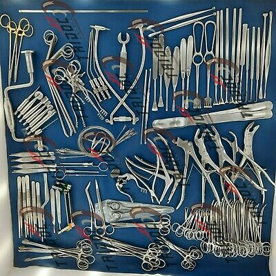 Neuro Surgery Instruments Set Of 133pcs German Stain Less Steel A