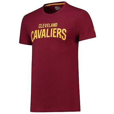 B57 Mens S Cleveland Cavaliers New Era Team Logo T-Shirt