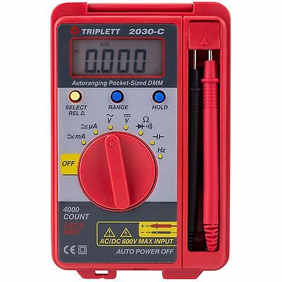 Triplett 2030-c Pocket Dmm