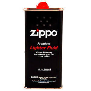 1 x 355ml Genuine Zippo Lighter Fluid EB2