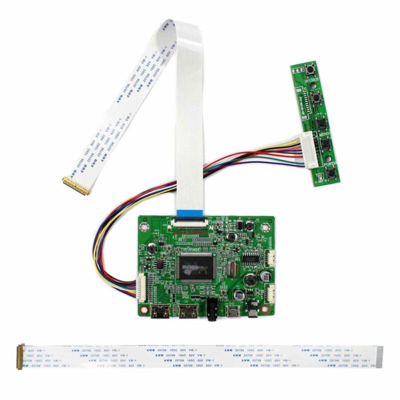 """HD MI Mini LCD Controller Board For 11.6"""" 13.3"""" 14"""" 15.6"""" 1920x1080 30P eDP LCD"""