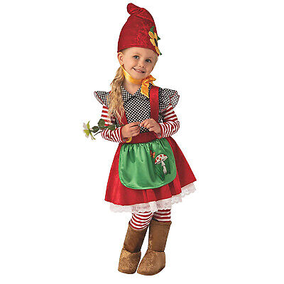 Kid Troll Halloween Costume (Child Girl's Garden Gnome Troll Gnomeo and Juliette Smurfette Halloween)