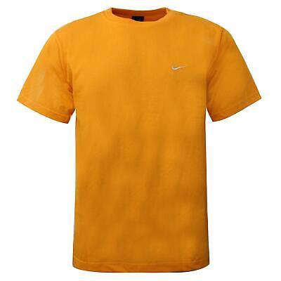 Nike Mens Active T-Shirt Training Running Sports Top Orange 990838 760B