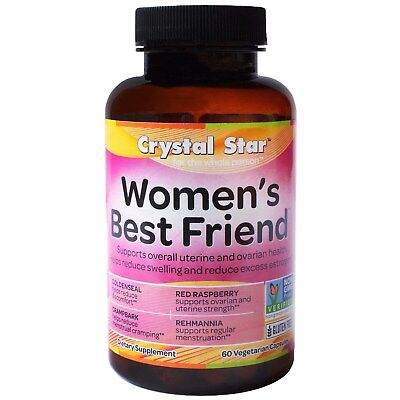 Crystal Star  Women s Best Friend  60 Veggie Caps