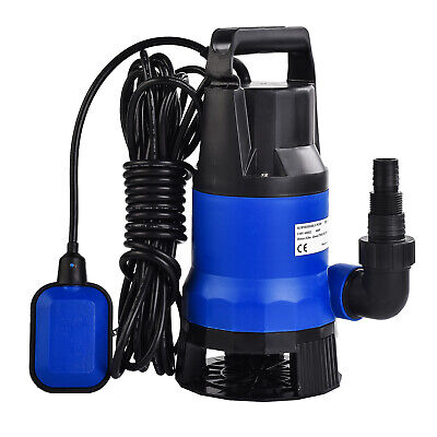 12 Hp 2100gph Submersible Water Pump Swimming Pool Dirty Flood Clean Pond 400w