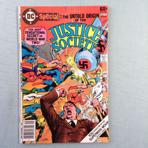 DC Special Justice Society of America Comic Book #29 DC Comics Bronze Age 1977