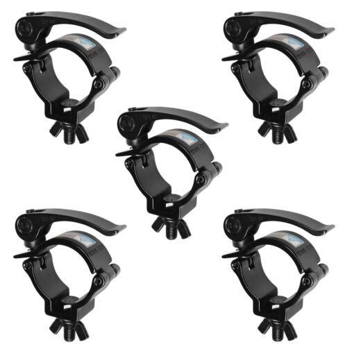 5 Pack 2 Inch DJ Stage Lighting Clamps Truss Clamp Heavy Duty 220 Lbs