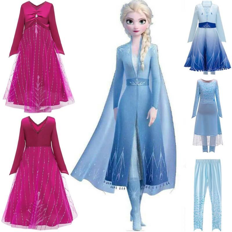 Kids Girls Princess Cute Sweet cinders Dress Costume Party Fancy Dress Cosplay