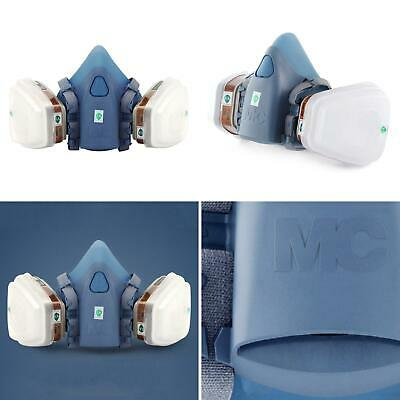 7 In 1 Half Face Mask For 7502 Gas Painting Spray Protection Respirator Cheap