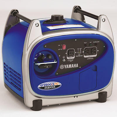 Yamaha Ef2400ishc 2 400 Watt Gas Powered Portable Rv Backup Inverter Generator