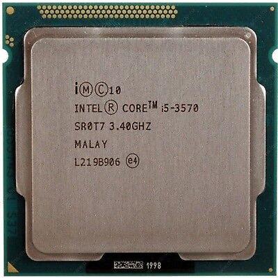 Intel Sum i5 3570 Processor 6MB 3.4Ghz SR0T7 3rd Generation Quad Core S-12