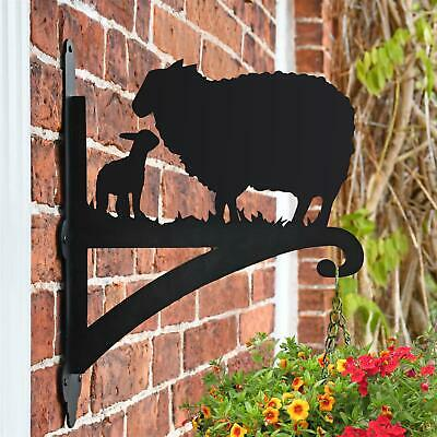 Sheep Iron Hanging Basket Bracket