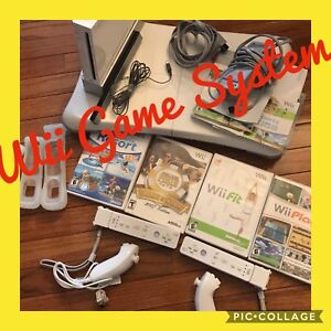 Wii System with Games & Accessories