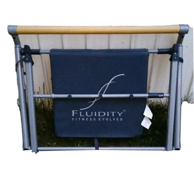 Fluidity Fitness Evolved Exercise Barre Very Good Condition