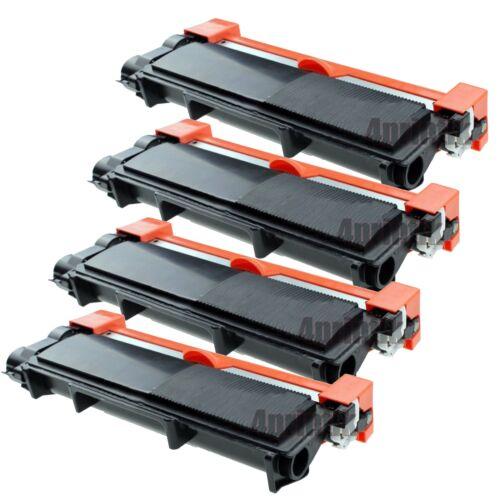 4 High Yield Black Toner Cartridge TN660 HL-L2300D For Brother DCP-L2540DW TN630