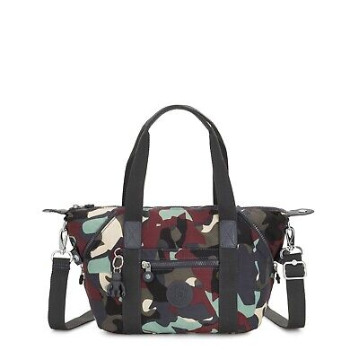 Kipling Medium Handbag ART MINI Shoulder Bag CAMO L Print Holiday 2019 RRP £77