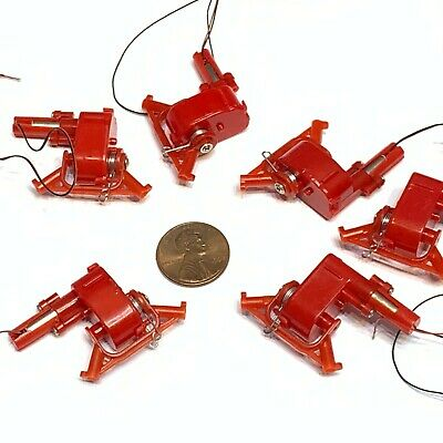 6 Pieces Dc 3-3.7v Micro Speed Reduction Worm Gear Motor Mini Coreless Motor A20